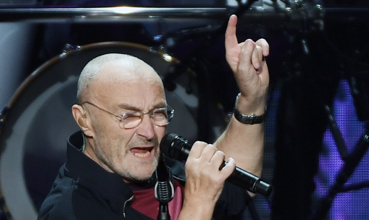 Phil Collins In Concert At MGM Grand In Las Vegas
