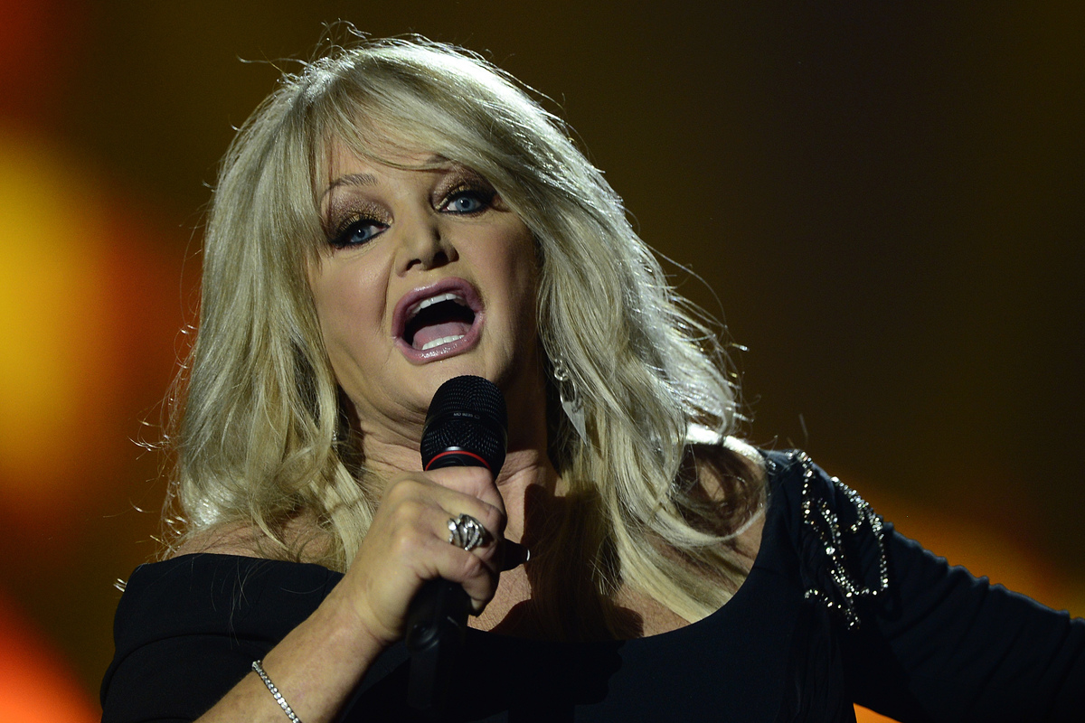 Bonnie Tyler performs 2013