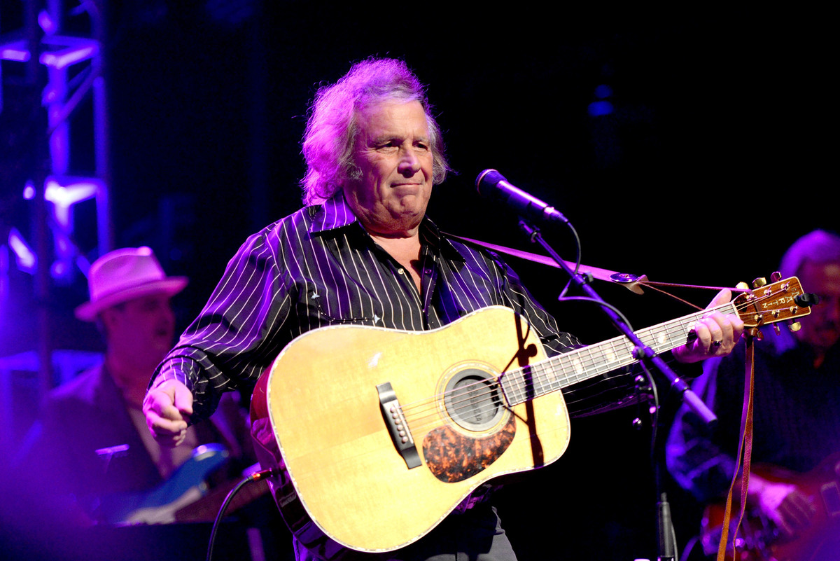 Don McLean Performs At The Canyon Club