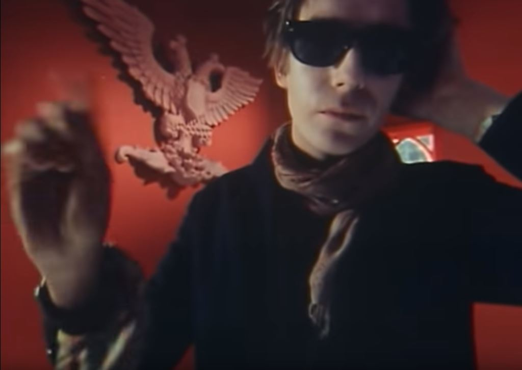 The Psychedelic Furs in the music video Pretty in Pink