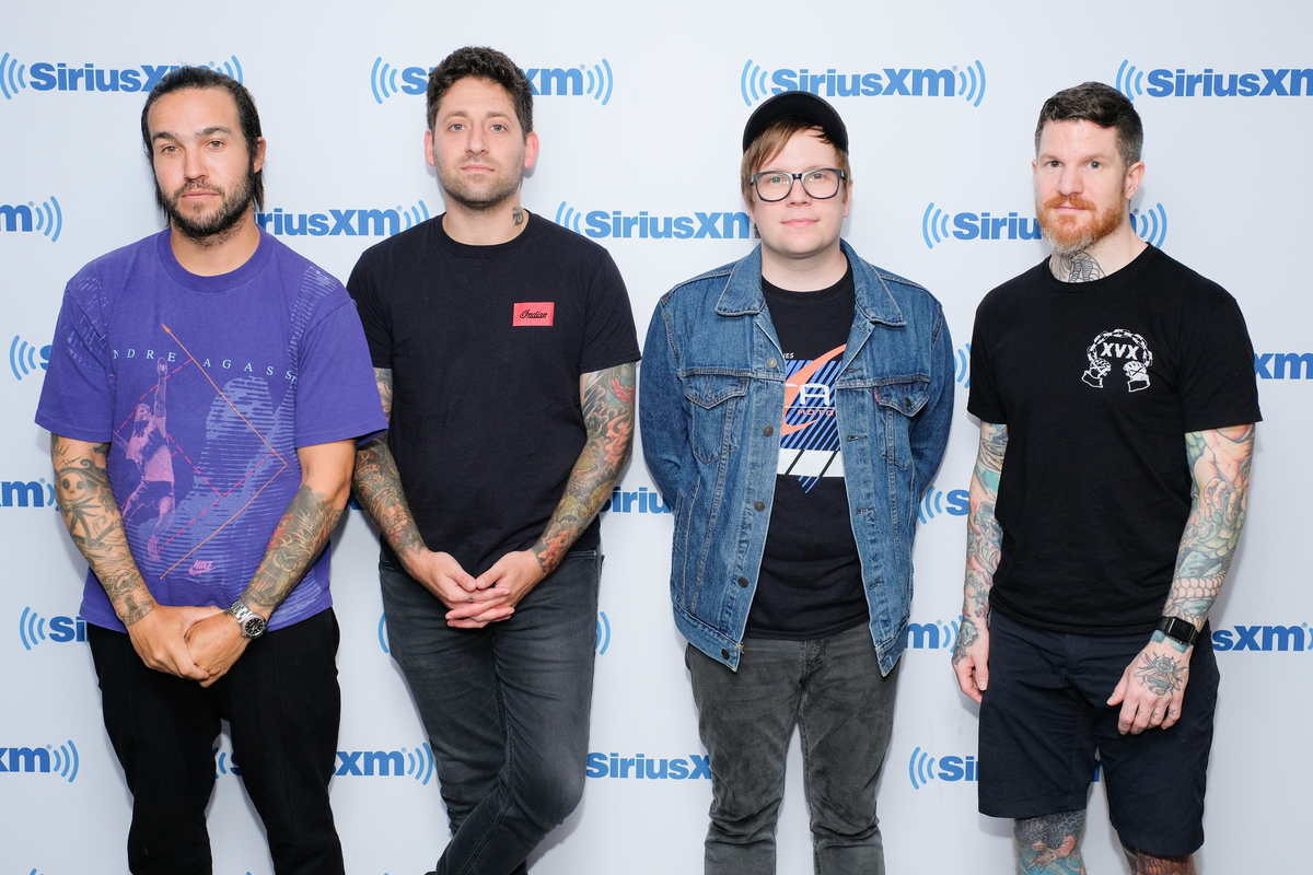 Fall Out Boy visits SiriusXM