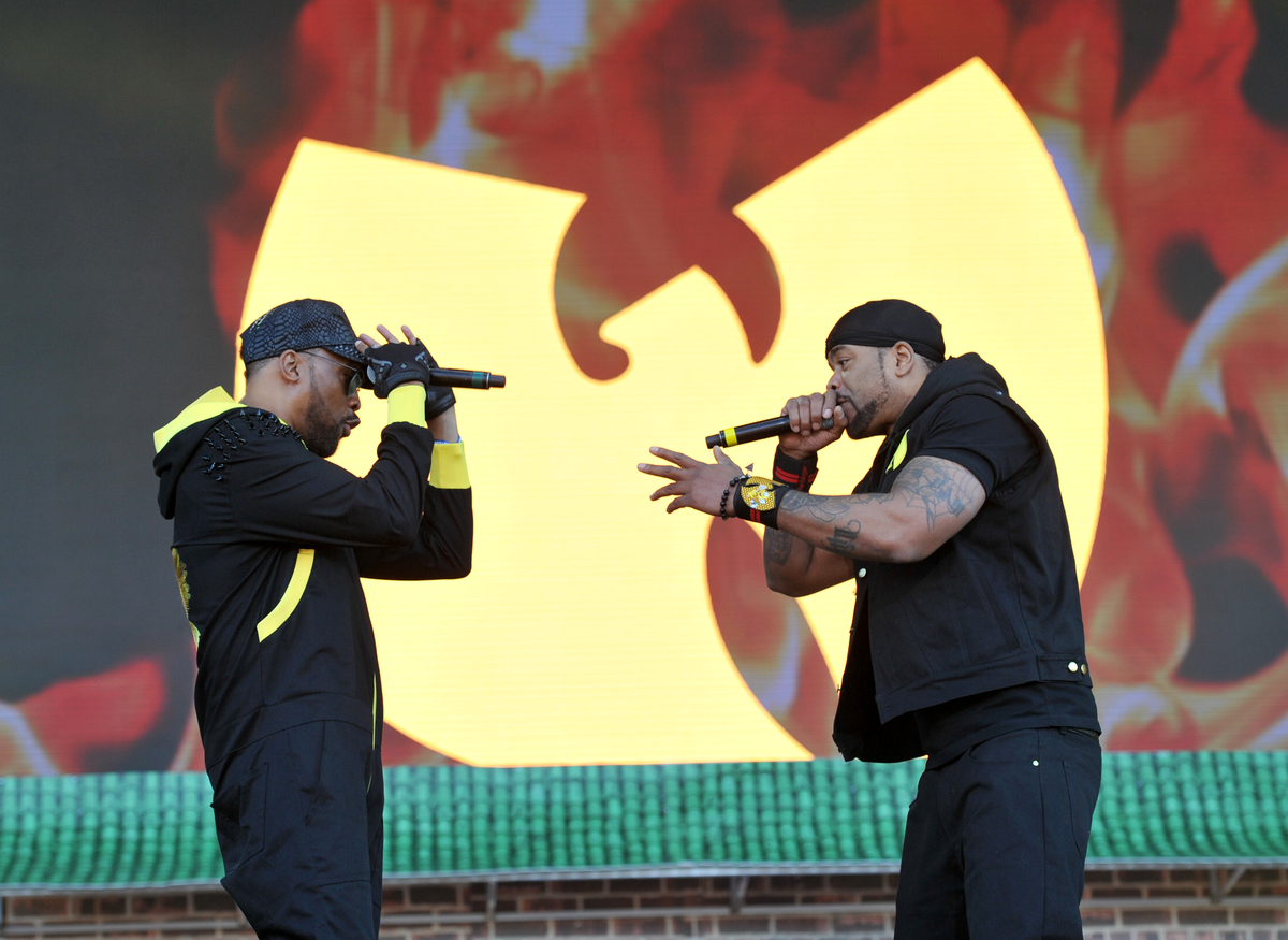 Wu Tang Clan at Governors Ball Music Festival