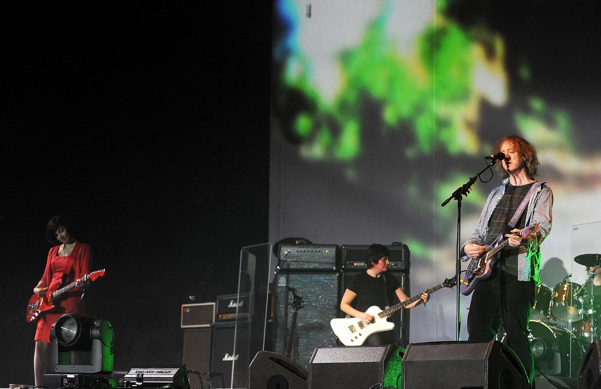 My Bloody Valentine at 2009 Coachella Music Festival