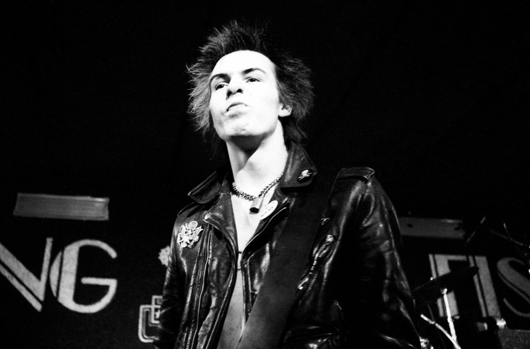SEX PISTOLS, Sid Vicious performing live