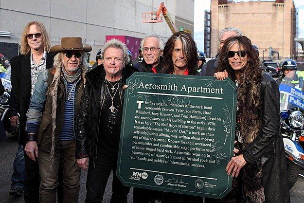 Aerosmith 2012 concert at 1325 Commonwealth Ave