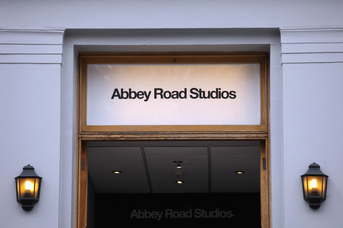 Abbey Road Studios entrance - London, England