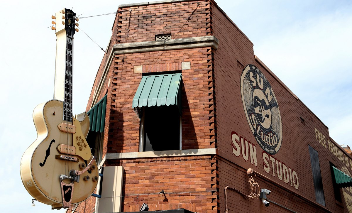 Sun Studios (Sun Record Company) - Memphis Tennessee