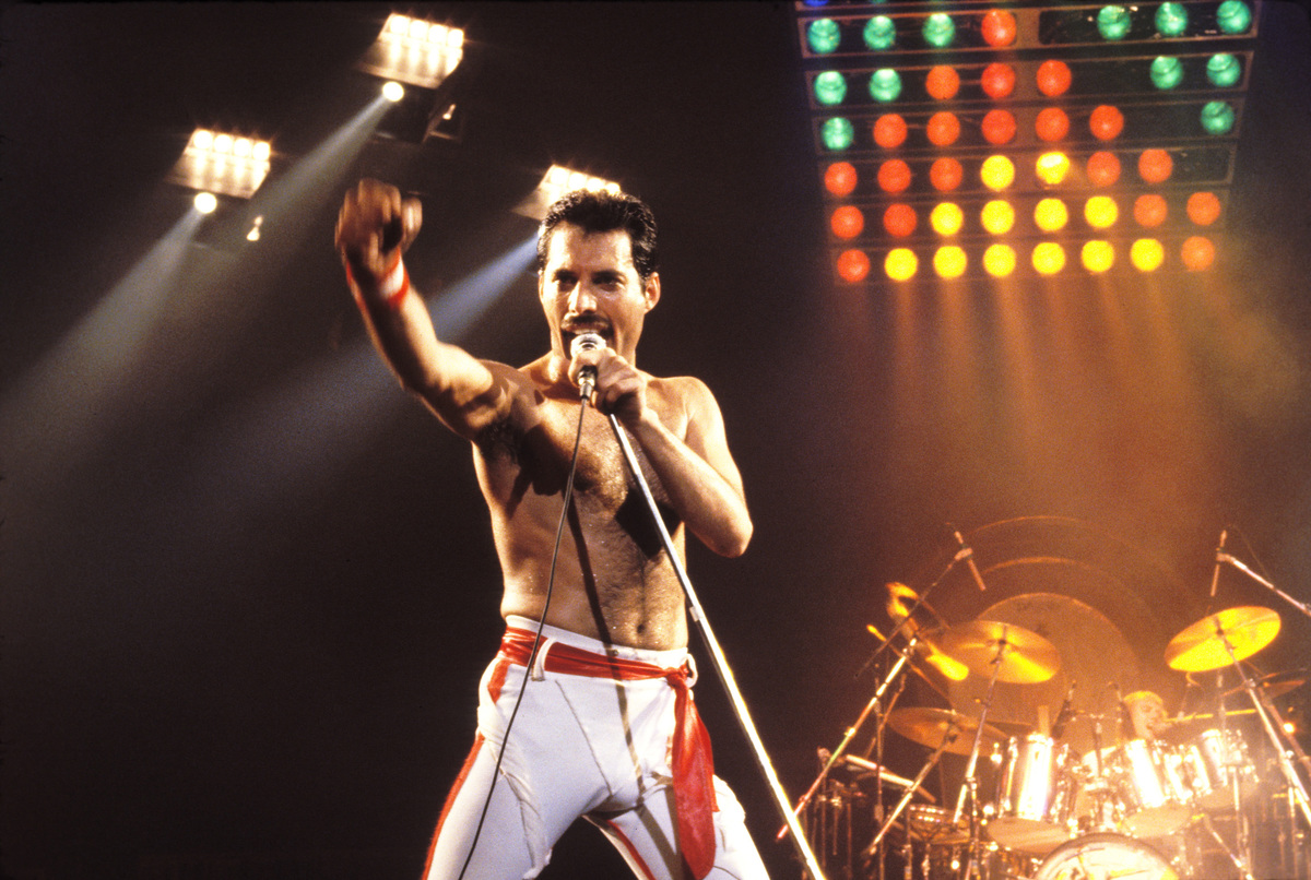 Freddie Mercury - Queen 1982 tour