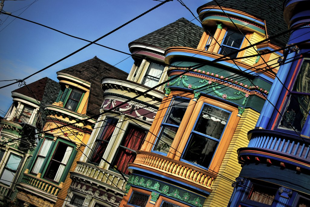 Haight Street in San Francisco building