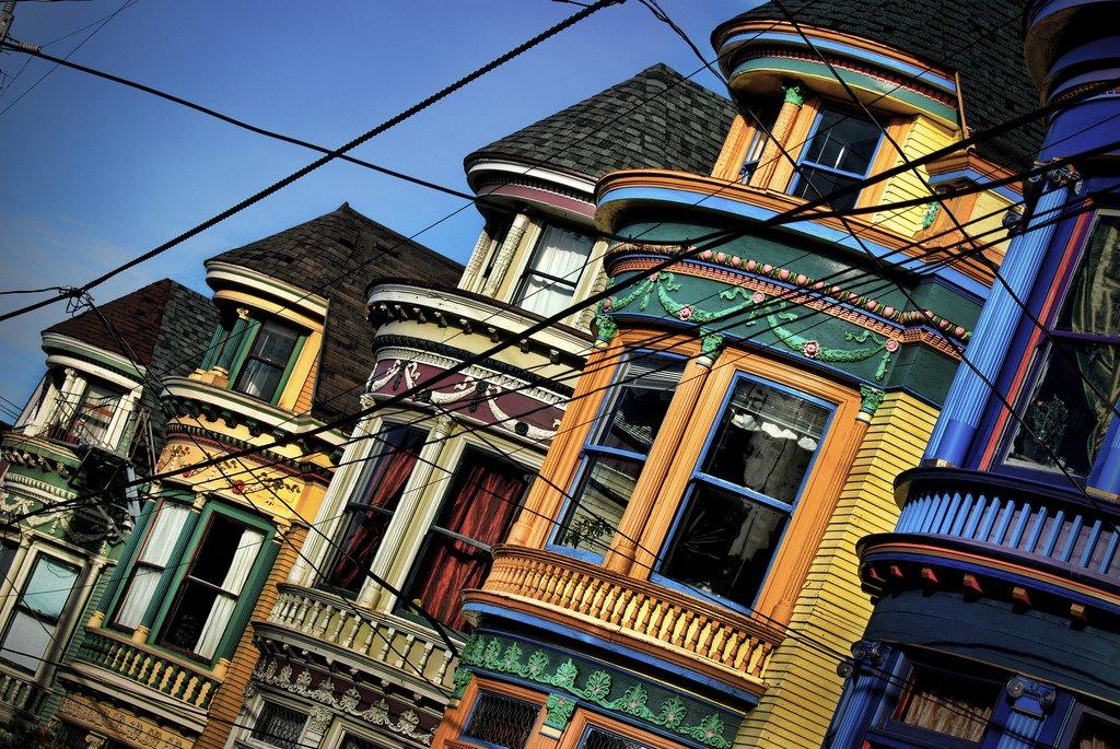 Haight Street in San Francisco building