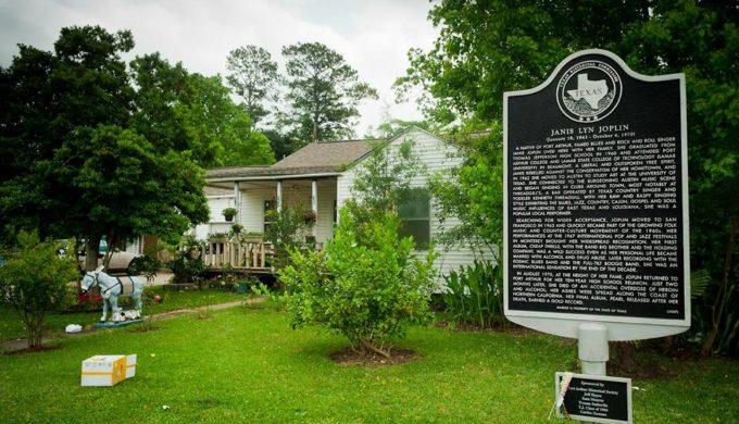 Janis Joplins childhood home Port Arthur