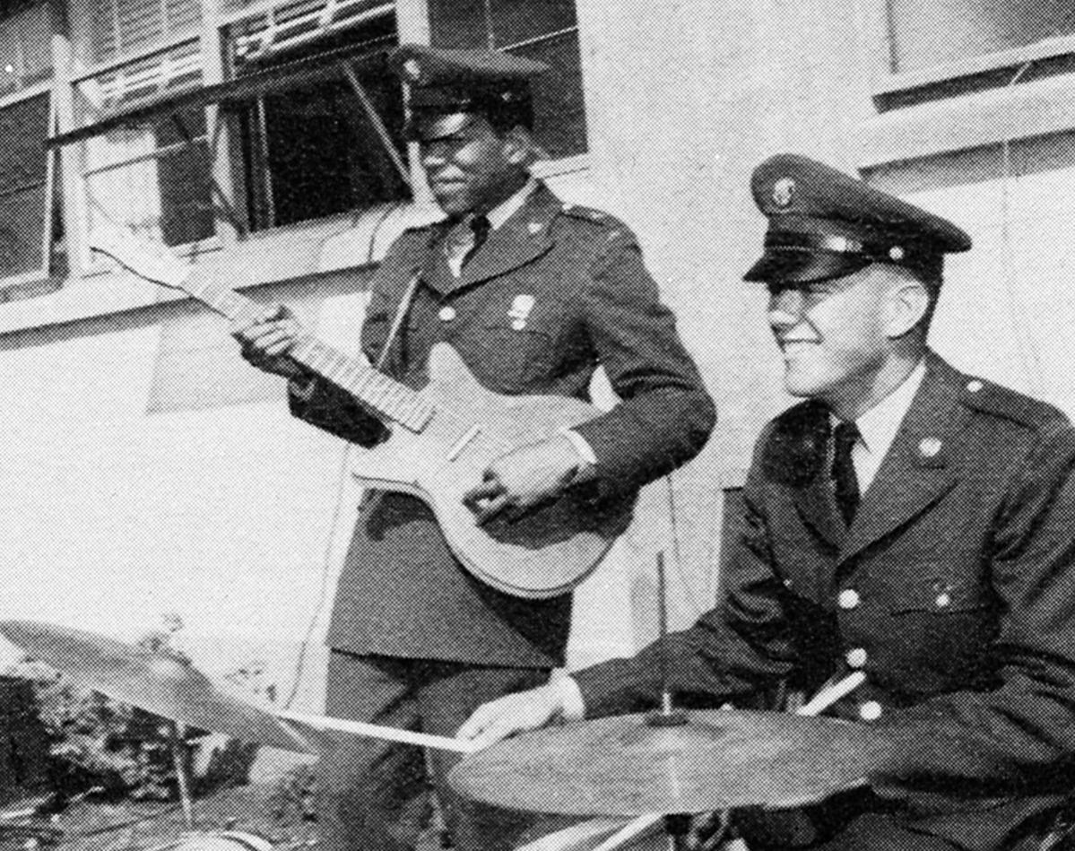 Jimi Hendrix 1961