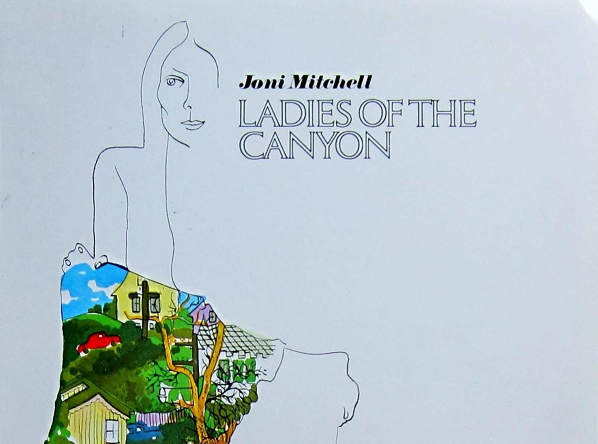 Joni Mitchell Ladies of the Canyon album cover