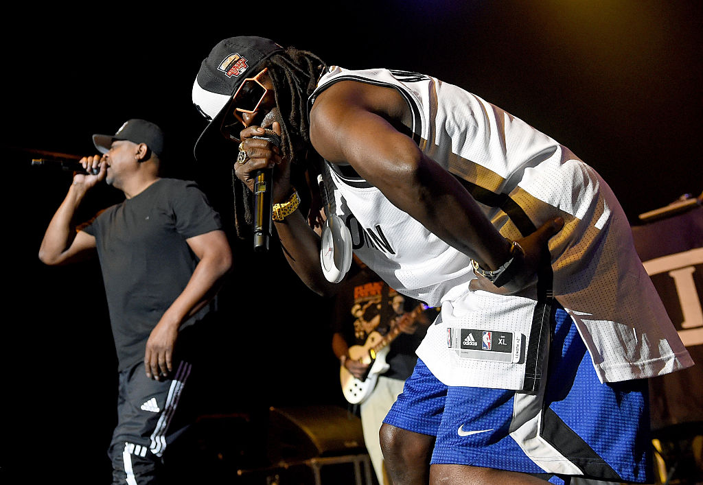 public enemy performing a show