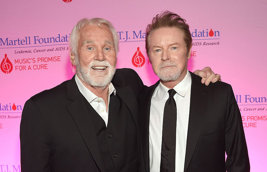 Picture of Don Henley and Kenny Rogers
