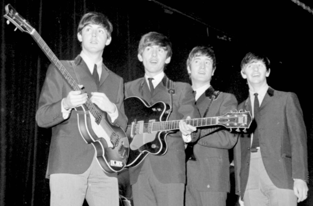 the beatles formed in high school