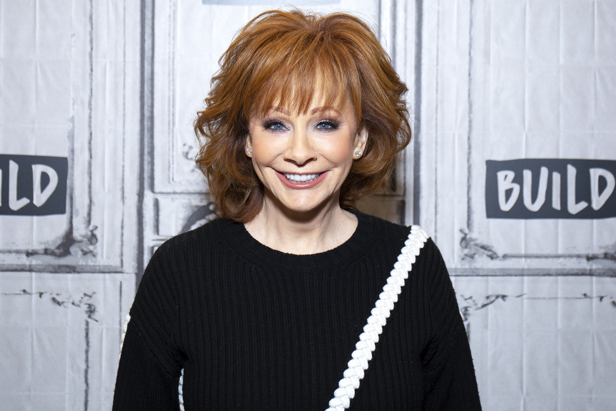 Reba McEntire visits Build Studio on February 20, 2019 in New York City.