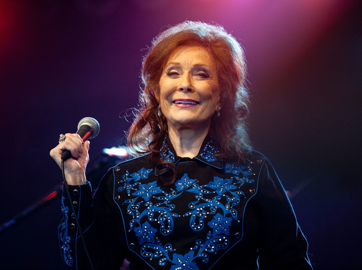 Loretta Lynn performs during the 2011 Bonnaroo Music and Arts Festival on June 11, 2011 in Manchester, Tennessee.