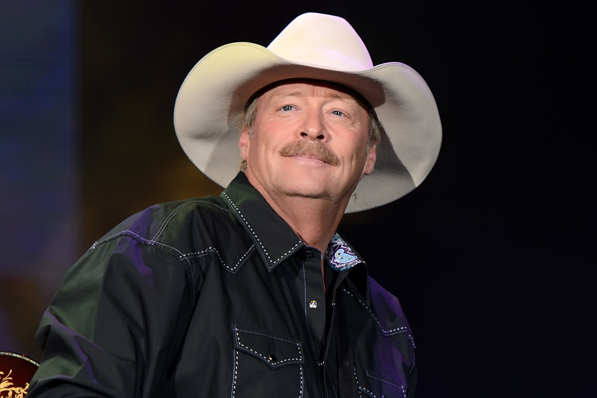 Alan Jackson performs at US Cellular Coliseum on May 9, 2015 in Bloomington, Illinois.