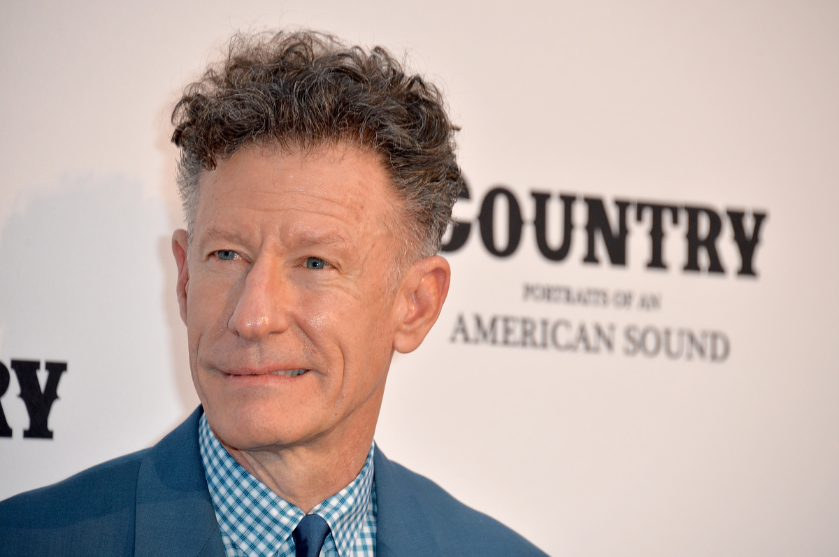 Musician Lyle Lovett attends the Annenberg Space for Photography Opening Celebration for