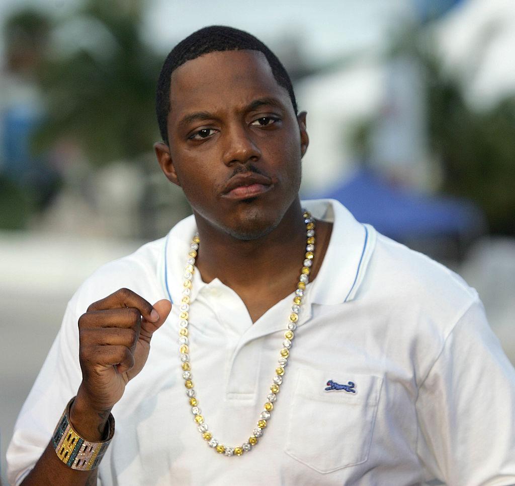 Rapper Mase appears