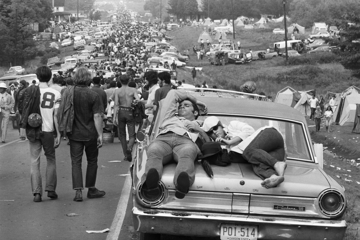 traffic after woodstock
