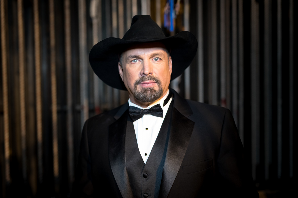 Singer Garth Brooks performs at the Placido Domingo 50th Anniversary Concert at Dorothy Chandler Pavilion on November 17, 2017 in Los Angeles, California.