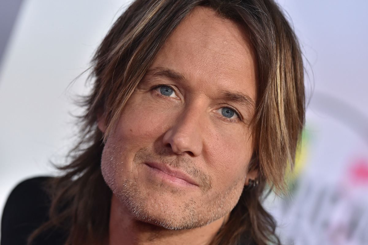 Singer Keith Urban arrives at the 2017 American Music Awards at Microsoft Theater on November 19, 2017 in Los Angeles, California.