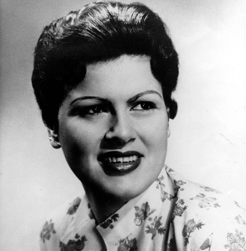 Patsy Cline poses for a headshot