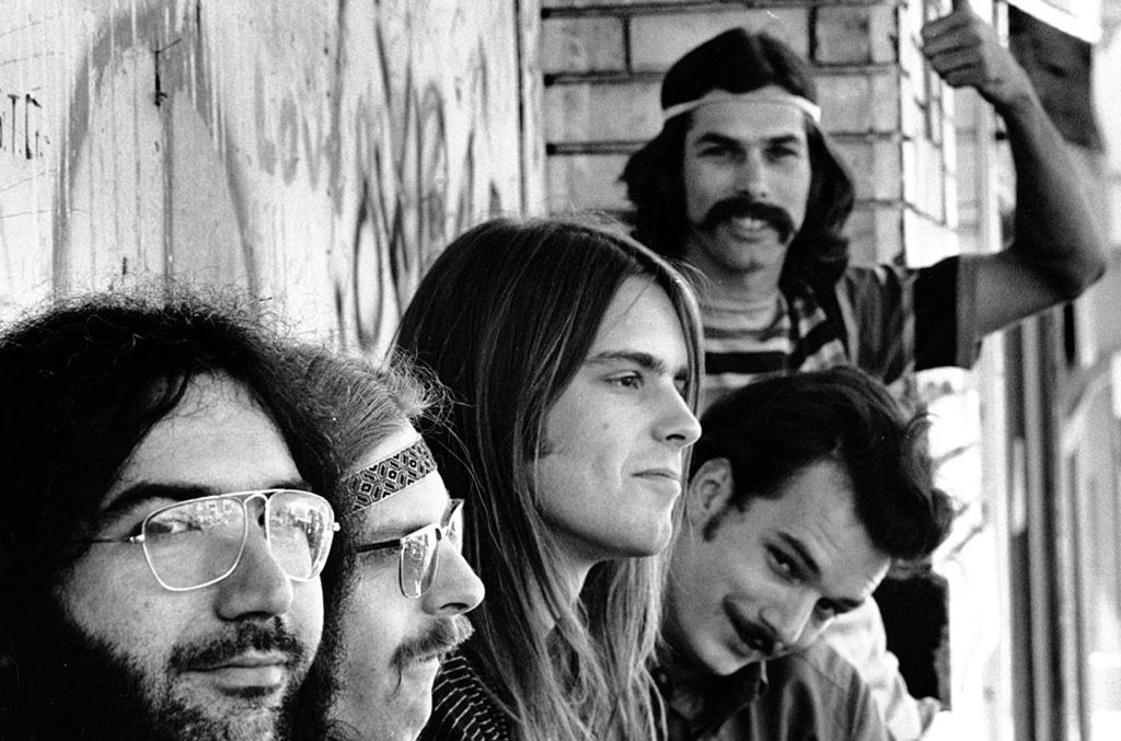 The Grateful Dead in 1960