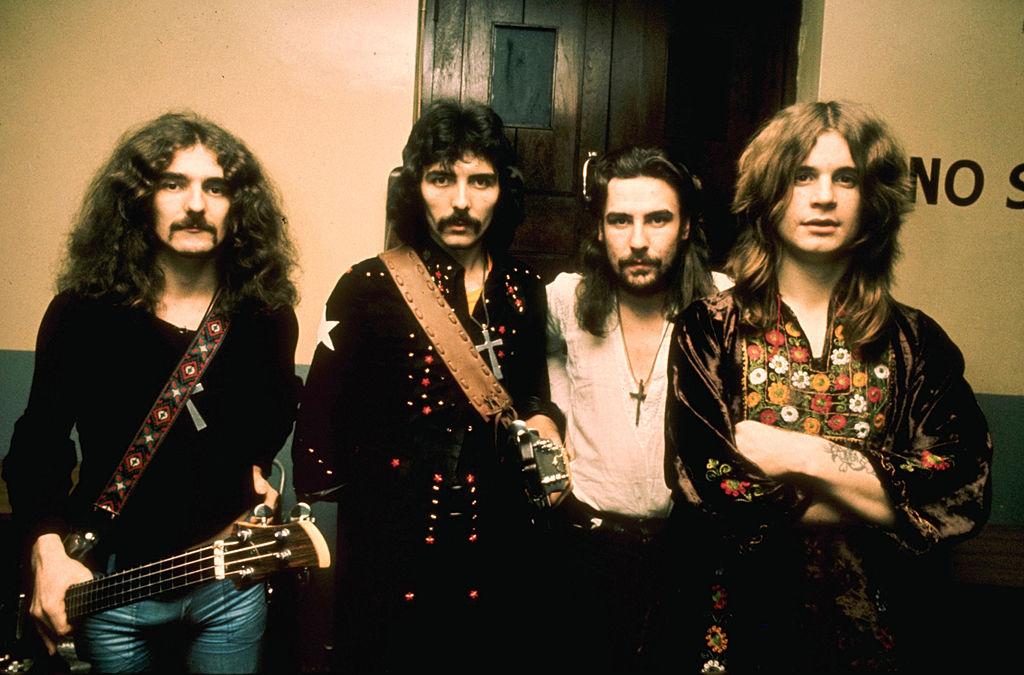 Sabbath Posing backstage