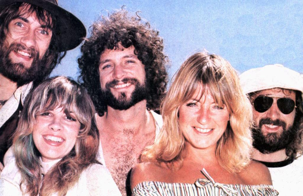 Portrait of Fleetwood Mac in 1975