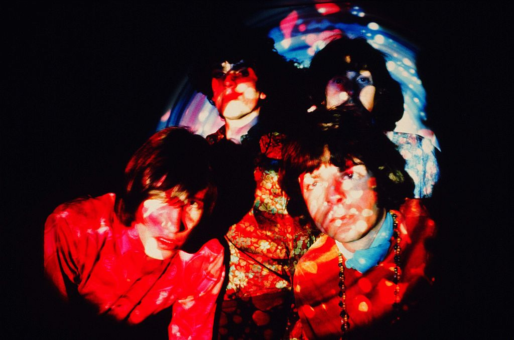 Psychedelic portrait of Pink Floyd