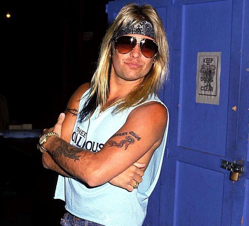 Vince Neil Had That Too Cool For School Persona
