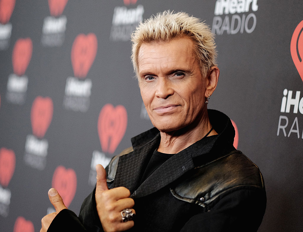 Billy Idol Should Lose The Platinum Blonde Spikes And Fake Tan