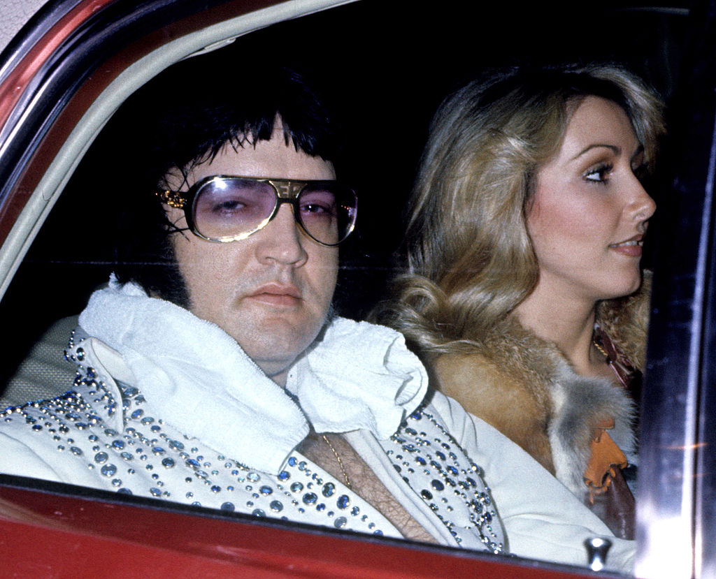 linda thompson and elvis
