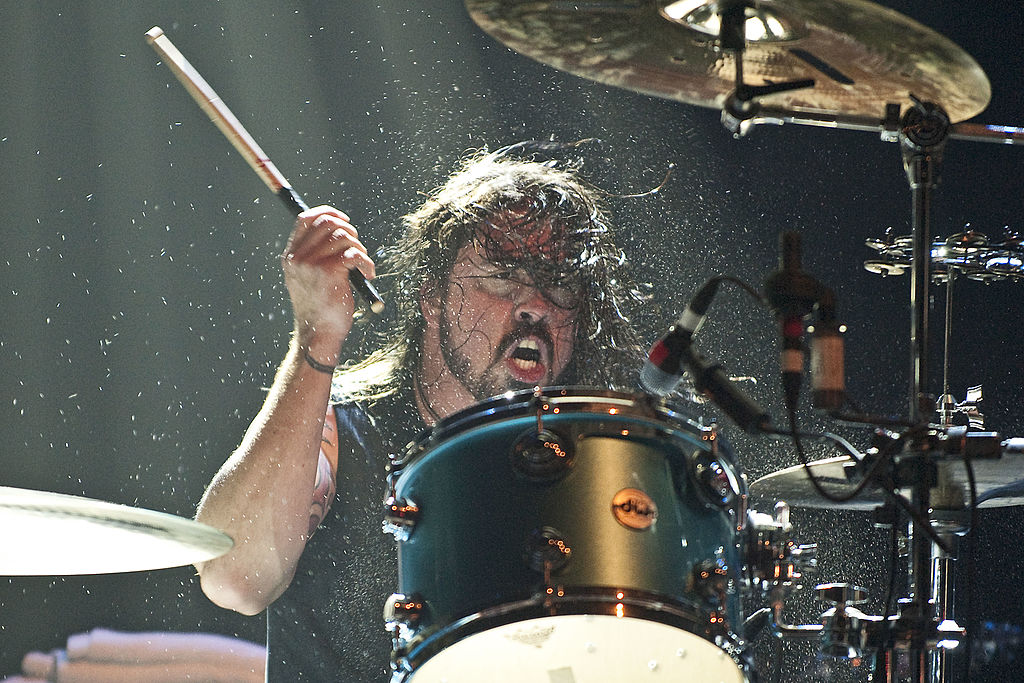Dave Grohl Used To Drum On His Pillows