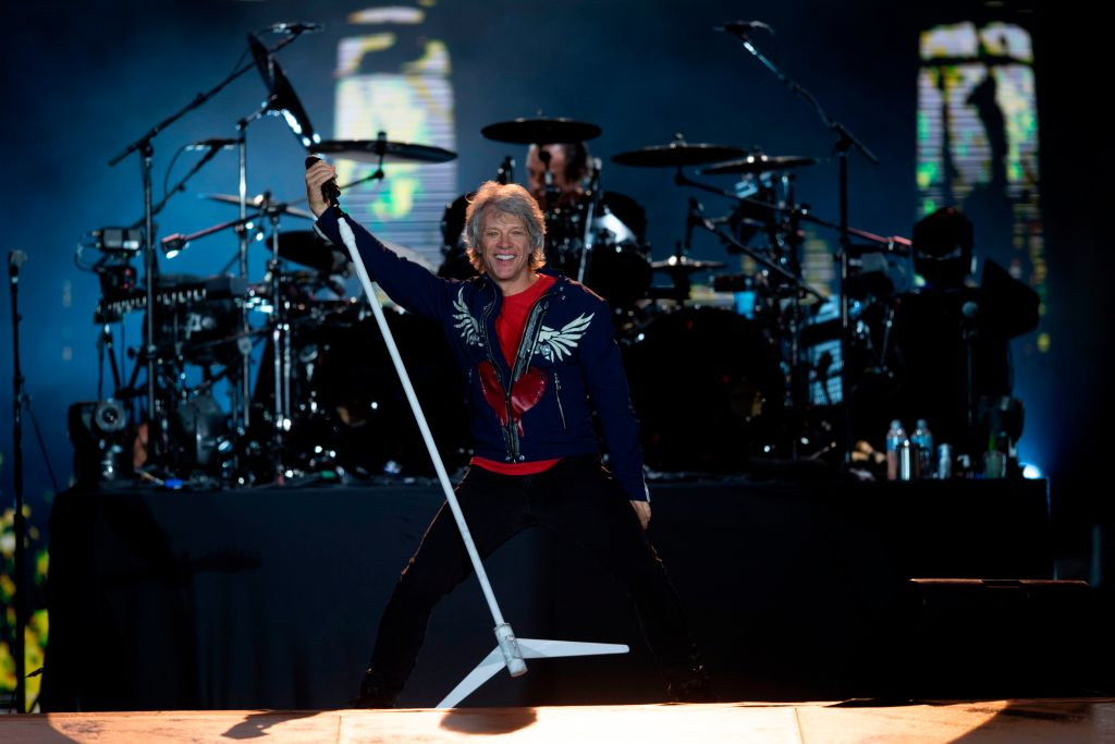 Bon Jovi Was The First Rock Band To Hit Number One On The Country Charts