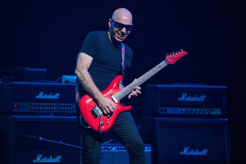Joe Satriani Is A 15-Time Grammy Winner