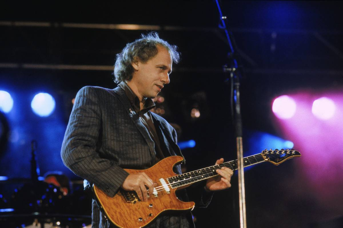 Mark Knopfler Is A Four-Time Grammy Winner