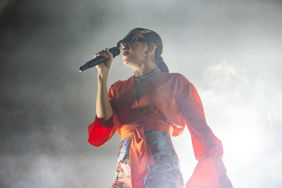 Charli XCX Performs In Milan
