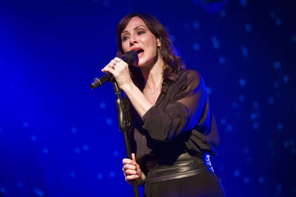 Natalie Imbruglia Performs In Berlin