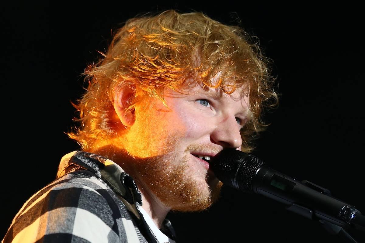 Ed Sheeran Performs In Perth