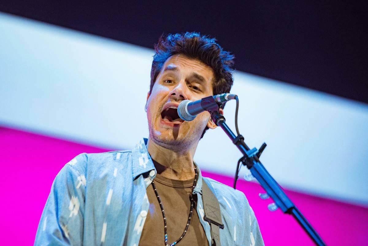 John Mayer Performs At The O2 Arena, London