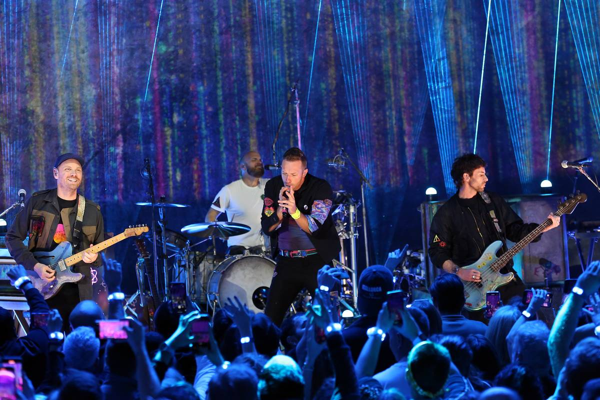 Coldplay 'Music Of The Spheres' Album Launch
