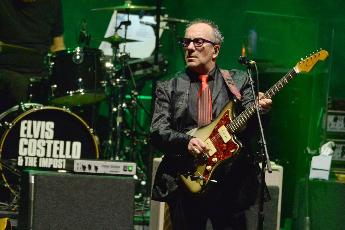 Elvis Costello And The Imposters Perform At Hammersmith Apollo