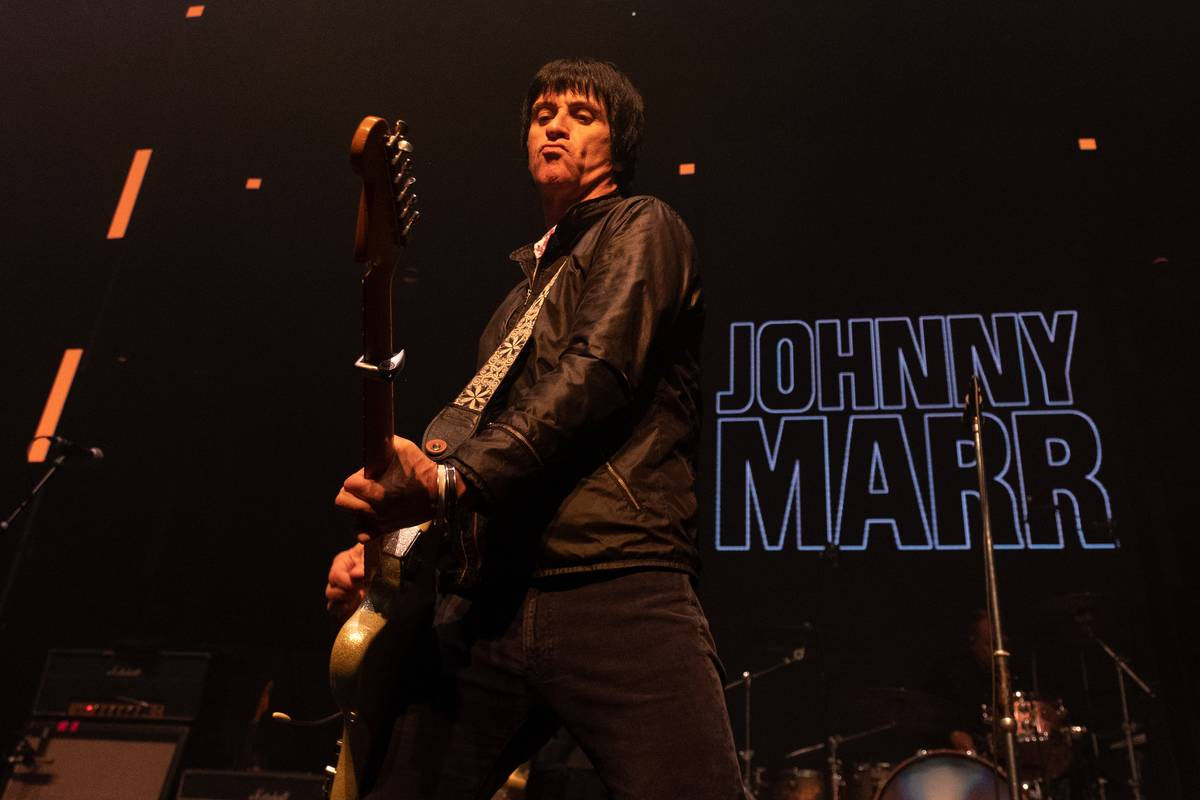 Johnny Marr Performs In London