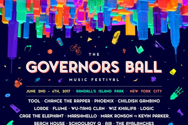 governors ball 2017 lineup poster