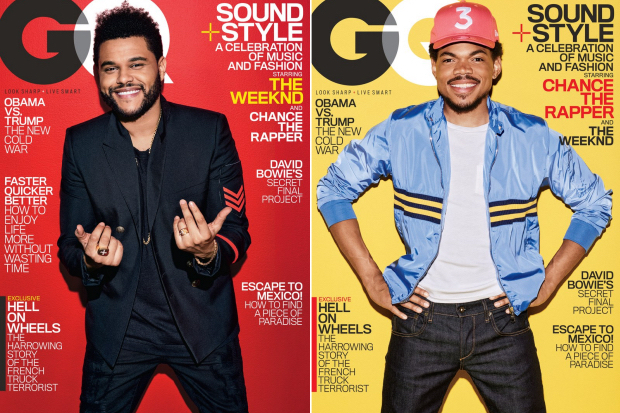 the-weeknd-chance-the-rapper-gq-cover-2017