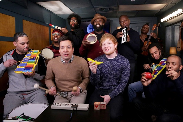 """Shape of You"" With Toy Instruments"